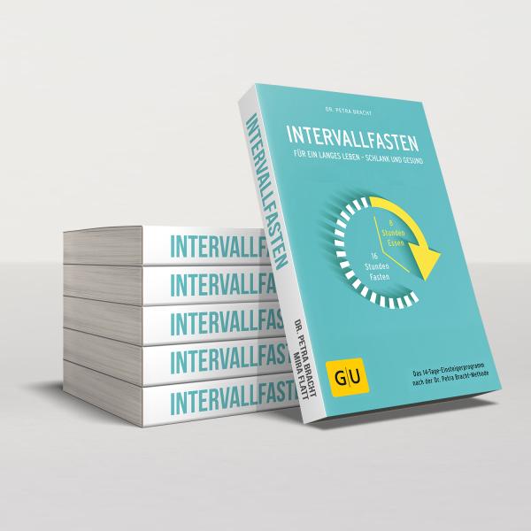 """Das Buch """"Intervallfasten"""" von Dr. Petra Bracht"""