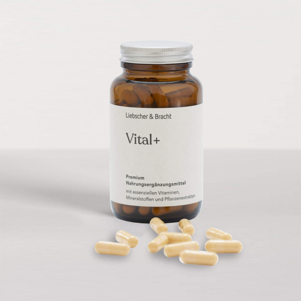 Vital+ Premium Nahrungsergänzungsmittel (Vitalstoffversorgung für 2 Monate)
