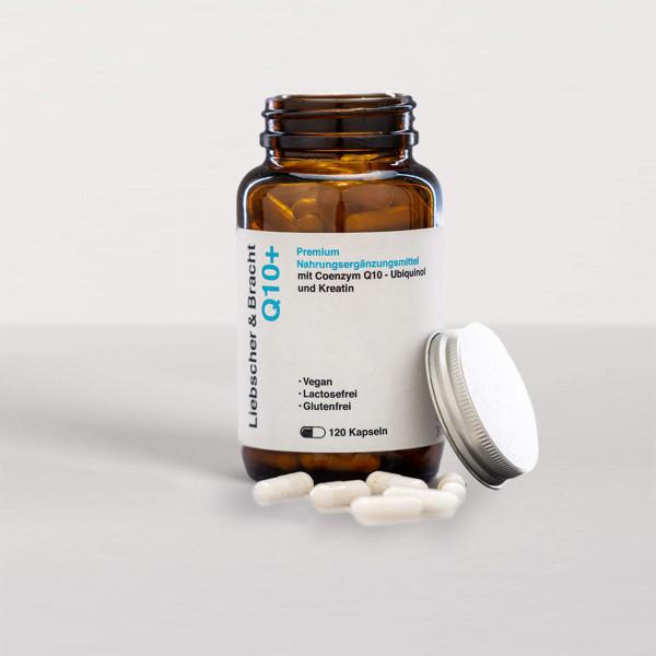 Q10+: Mit Ubiquinol zur besseren Aufnahme (für 2 Monate)
