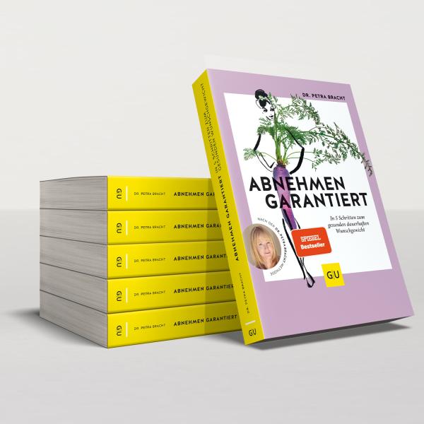 """Das Buch """"Abnehmen garantiert"""" von Dr. Petra Bracht"""