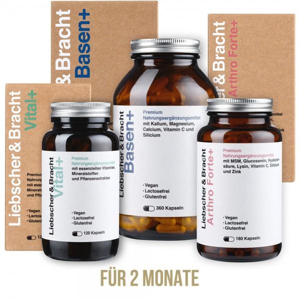 Die 3er-Kombi für 2 Monate | Unsere Premium Nahrungsergänzungsmittel (Vitalstoffversorgung)