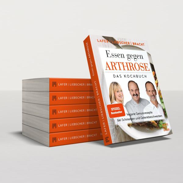 Buch Essen gegen Arthrose von Roland Liebscher-Bracht, Petra Bracht und Johann Lafer
