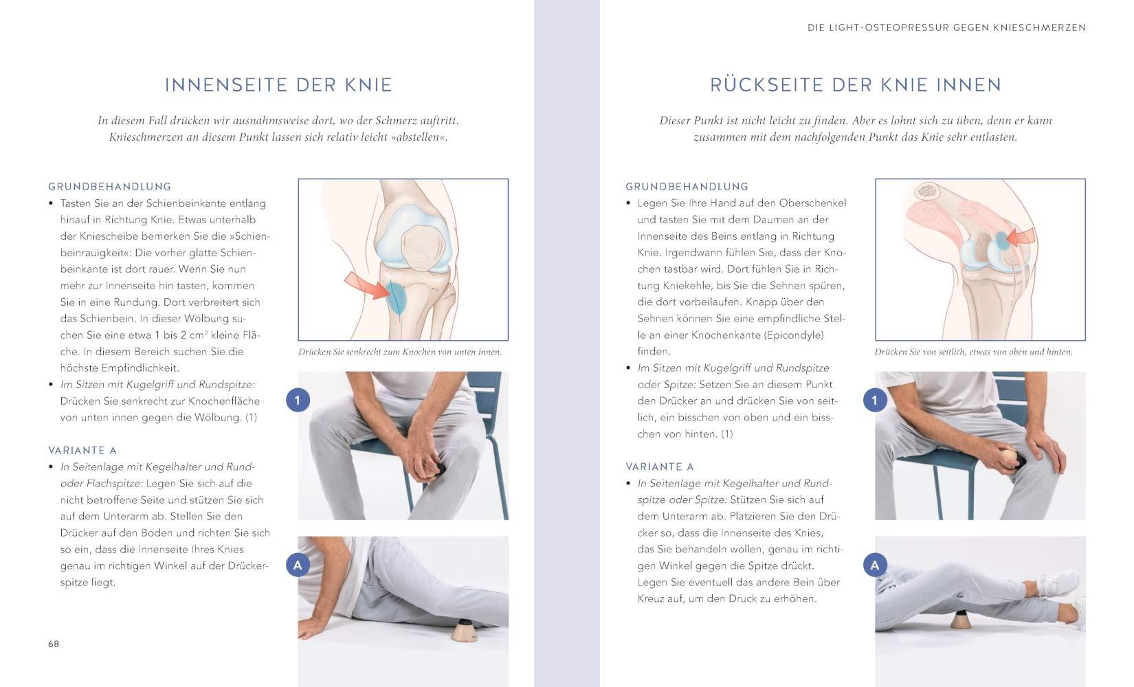 Knieschmerzen selbst behandeln: Mit der Liebscher-Bracht..